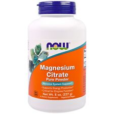 Now Foods magnesio citrato polvo puro 227ml (227g)
