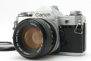 EXC+++++/ Canon AE-1 + FD 50mm F1.4 S.C.C. SLR Film Camera from Japan #1355