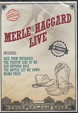 New DVD  - Merle Haggard Live