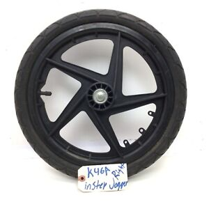 "16"" Instep JOGGER STROLLER  Black Mag Rear Wheel Tire 16"" x 1.75 (right)  #k46A"