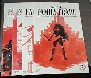 Image Comics The Family Trade #1-4 #1 #2 #3 #4 VF/NM Justin Jordan