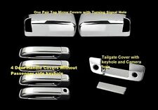 CHROME COVERS for 2010-2016 Dodge Ram 2500 3500 Tailgate, TOWING Mirrors, Doors
