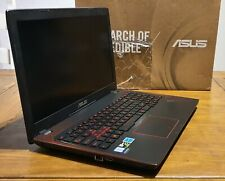 Asus Gaming Laptop i7 7th gen, GTX 1050, 240GB SSD, 1TB HDD, 16GB Ram, Boxed