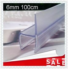 BATHROOM PVC PLASTIC SHOWERSCREEN SHOWER SCREEN DOOR WATER SEAL STRIP LINING 6MM
