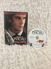American Psycho (Dvd, 2000, Uncut Version) Christian Bale