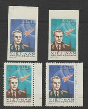 Vietnam Stamp Gherman Titov's Space Flight Sc #174 - 175 Impert + Perforated MNH