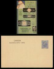 Mayfairstamps Canada 1920s Santa Illsutrated Christmas Bulova Watches stationery