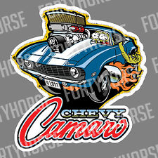 Muscle Car Vinyl Stickers - '69 Chevy Camaro