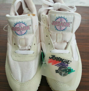 VTG 1980's Jordache Womens Tennis Shoes sz 9 BRAND NEW NWT trainers pink lace