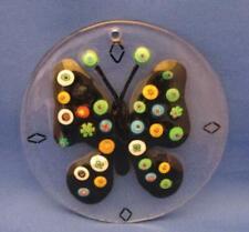 Art Glass Butterfly Suncatcher