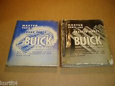 1928-1950 1949 1948 1940 1941 1939 Buick Body Chassis parts catalog book manual
