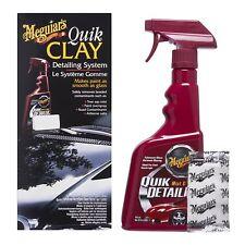 Meguiar's Quik Detailer + Nettoyage à modeler Quik Clay Set g1116eu 473 ml + 80 g