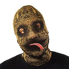 da Halloween Maschera SCIVOLOSO SERPENTE LINGUA Costume Horror LYCRA