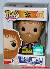 FUNKO POP 2014 WWE DANIEL BRYAN 07 Hot Topic Exc Red Suit Vinyl Figure IN STOCK