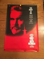 The Hunt for Red October 1990 27x41 Orig Movie Poster  Rolled