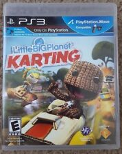 Little Big Planet Karting PS3 (PlayStation 3, 2012) Video Game Complete - Move