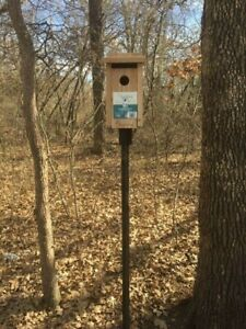 BIRD HOUSE MOUNT, EASY TO USE AND INSTALL