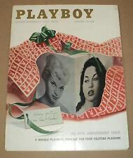PLAYBOY MAGAZINE (12-1957) GVG center-fold detached; Linda Vargas (id#10543)
