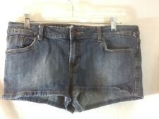 Nice FOX DENIM Woman size 11 waist 31 Denim shorty Shorts pre-owned MUST HAVE