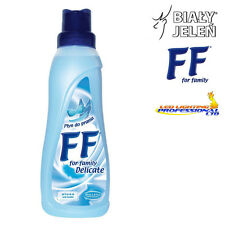 FF WASHING LIQUID - DELICATE FABRICS - BIALY JELEN WITH ALOE & LANOLIN 500ml