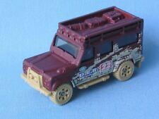 Matchbox Land Rover 110 Defender Brown Body Safari DER Toy Model Car