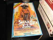 Shaka Zulu-Robert Powell-Edward Fox-Trevor Howard-2 vhs