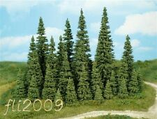 * Heki scala N 2150 set 10 alberi abeti pini tree tannen altezza 3-5 cm.
