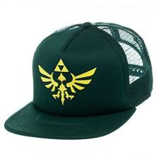 New Licensed Nintendo Legend of Zelda Rubber Triforce Logo Snapback Hat SICK LID