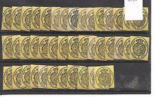 España. Conjunto de 41 sellos nuevos de 1/2 Onza. Edifil nº 35*