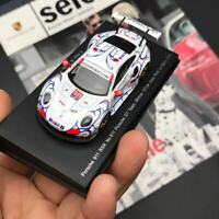New 1/64 Spark Porsche GT Team 911 RSR #911 Winner GTLM Le Mans 2018 car model