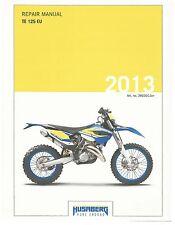 Husaberg service manual 2013 TE 125 EU