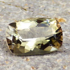 GREEN GOLD-PEACH PINK DICHROIC OREGON SUNSTONE 3.98Ct FLAWLESS-FOR TOP JEWELRY!