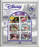 Internationale Briefmarken Disney Set #1 Alice in Wonderland originalverpackt!