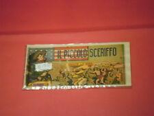 PICCOLO SCERIFFO STRISCIA TORELLI- I ° 1° prima SERIE N° 3 -ed- torelli di muzzi