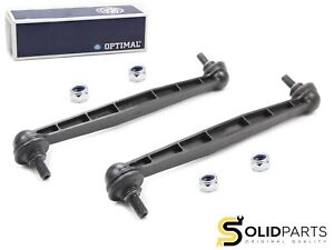 2x Original Optimal Stabilizer Coupling Rod Front Opel Astra G H Meriva Zafira