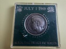 Investiture of Prince Charles as the Prince of Wales 1969 Caernarvon Medal (38H)