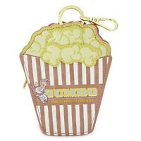 Loungefly Disney Dumbo The Elephant Popcorn Coin Bag Mini Purse Pouch Licensed