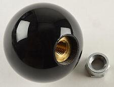 """5 speed engraved shift knob BLACK 3/8""""-16 for Hurst chrome shifter sticks"""
