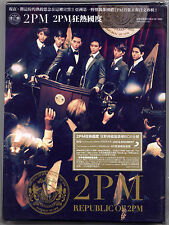 2PM: Republic of  (2011) Japan / CD & DVD & BOOKLET TAIWAN SEALED