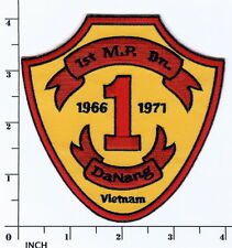 USMC 1st Military Police Battalion Vietnam 1966-71 PATCH Marines ! 1st MP Bn VN