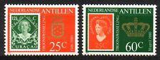 Dutch Antilles - 1980 Coronation queen Beatrix Mi. 417-18A MNH