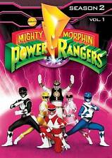 USED 3DVD - MIGHTY MORPHIN POWER RANGERS - SEASON 2 VOL 1 - 26 episodes - 8+ hr