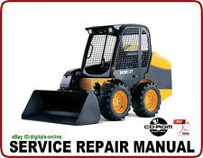 JCB 260W 280W 300W 330W 260T 300T 320T Skid Steer Loader Service Manual CD