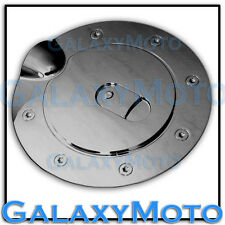 07-13 GMC Sierra 1500+2500+3500+HD Black Chrome Plated Fuel Gas Cap Door Cover