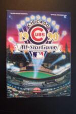 1990 Major League Baseball All-Star Game Program Chicago Cubs Wrigley Field