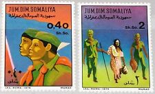 SOMALIA 1974 211-12 408-09 Pfadfinder Boy Scouts Victory Pioneers MNH