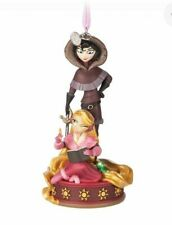 DISNEY STORE Rapunzel and Cassandra Sketchbook Ornament
