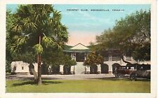 1920's The Country Club in Brownsville, TX Texas PC