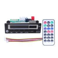 Bluetooth MP3 WMA Decoder Board Audio Module USB TF Radio For Car FM / AUX LXE