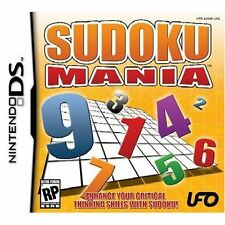 Sudoku Mania DS Authentic Cartridge Only English Version